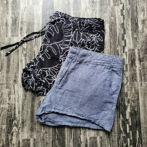 "Gap Outlet City 3"" shorts, size 14, two pairs"